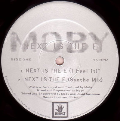 MOBY - Next Is The E / Thousand
