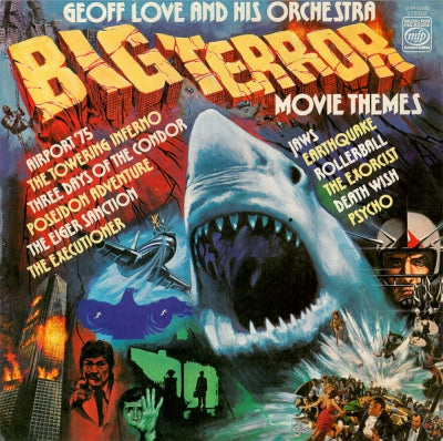 GEOFF LOVE & HIS ORCHESTRA  - Big Terror Movie Themes
