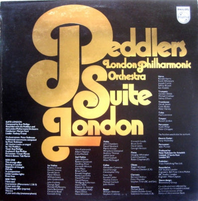 THE PEDDLERS AND LONDON PHILHARMONIC ORCHESTRA - Suite London