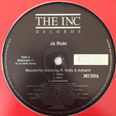 JA RULE FEATURING R. KELLY & ASHANTI - Wonderful