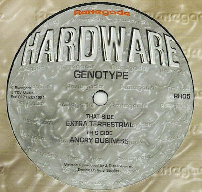 GENOTYPE - Extra Terrestral / Angry Business