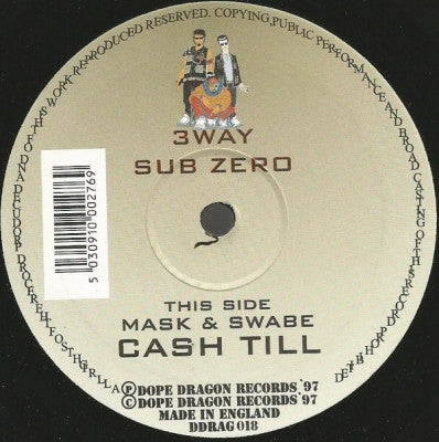 3 WAY / MASK & SWABE - Sub Zero / Cash Till