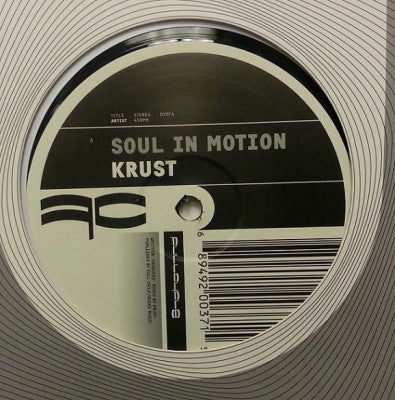 DJ KRUST - Soul In Motion / Going Nowhere