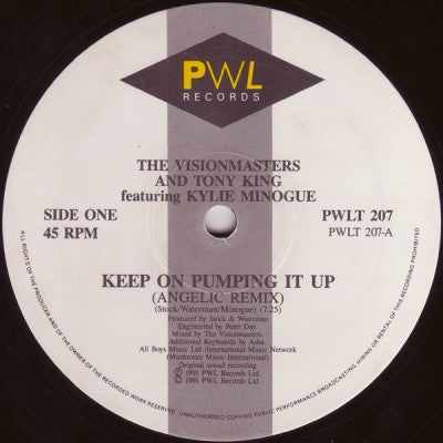 VISIONMASTERS AND TONY KING FEATURING KYLIE MINOGUE - Keep On Pumping It Up
