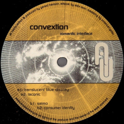 CONVEXTION - Romantic Interface