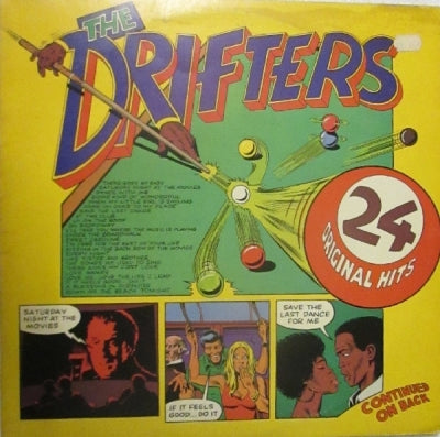THE DRIFTERS - 24 Original Hits
