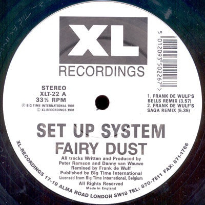 SET UP SYSTEM - Fairy Dust (Frank De Wulf Remixes)