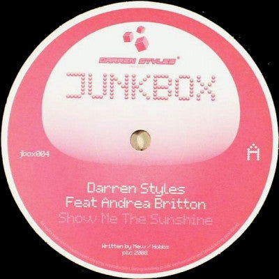 DARREN STYLES FEAT. ANDREA BRITTON / WAYNE G - Show Me The Sunshine / Lost The Plot
