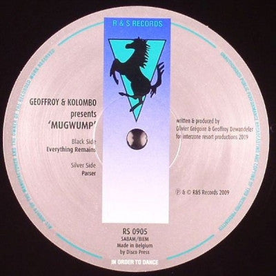 GEOFFROY & KOLOMBO PRESENTS MUGWUMP - Everything Remains / Parser