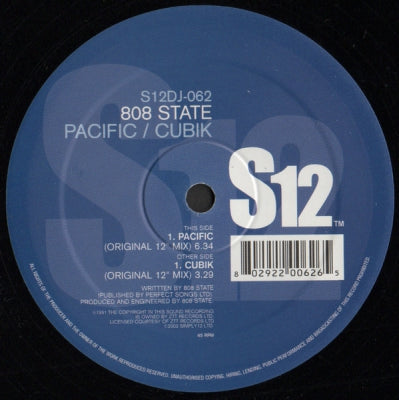 808 STATE - Pacific State / Cubik