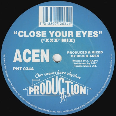 ACEN - Close Your Eyes