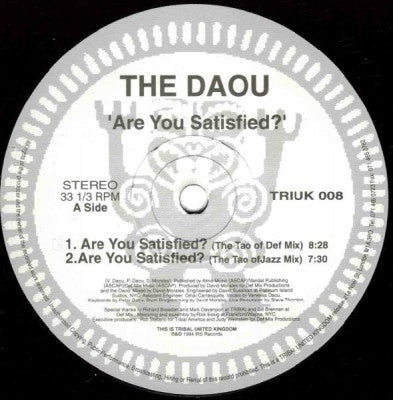 THE DAOU - Are You Satisfied?