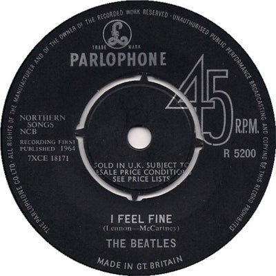 THE BEATLES - I Feel Fine / She's A Woman