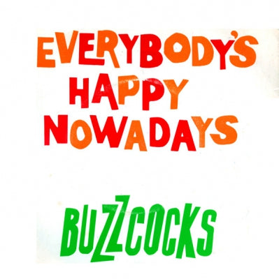 BUZZCOCKS - Everybody's Happy Nowadays / Why Can't I Touch It?.