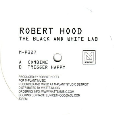ROBERT HOOD - The Black And White Lab