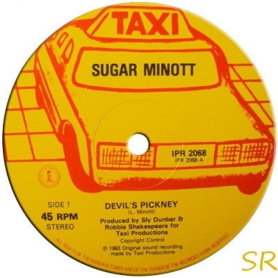 SUGAR MINOTT / SLY & ROBBIE - Devil's Pickney / Conquer Me / Swing Easy