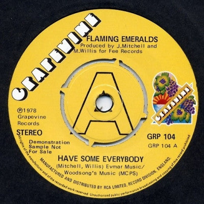 FLAMING EMERALDS - Have Some Everybody / Have Some Everybody (Instrumental).