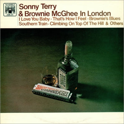 SONNY TERRY & BROWNIE MCGHEE - Sonny Terry & Brownie McGhee In London