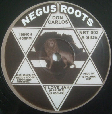 DON CARLOS - I Love Jah