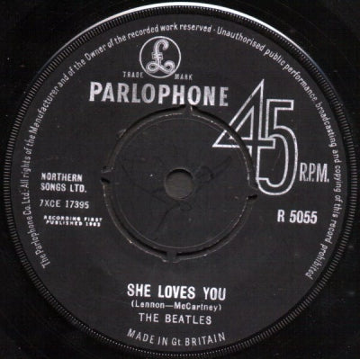THE BEATLES - She Loves You / I'll Get You