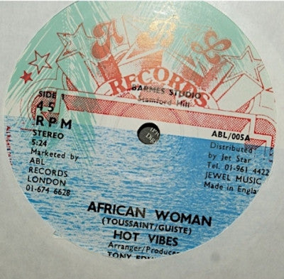 HOT VIBES - African Woman