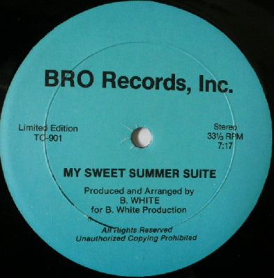 BARRY WHITE - My Sweet Summer Suite