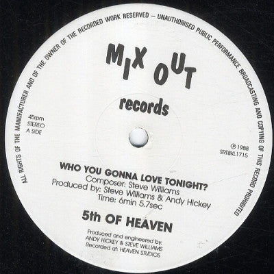 5TH OF HEAVEN  - With Out You (Baby I'm Lost)
