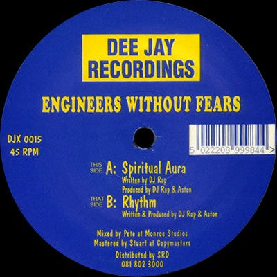 ENGINEERS WITHOUT FEARS - Spiritual Aura / Rhythm