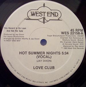 LOVE CLUB - Hot Summer Nights