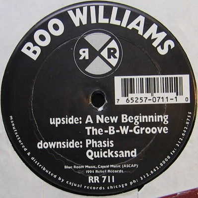 BOO WILLIAMS - A New Beginning