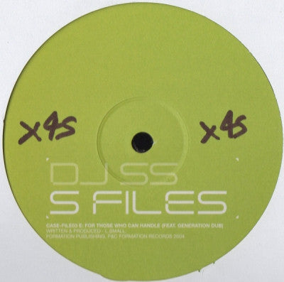 DJ SS - S Files (Case File 3)