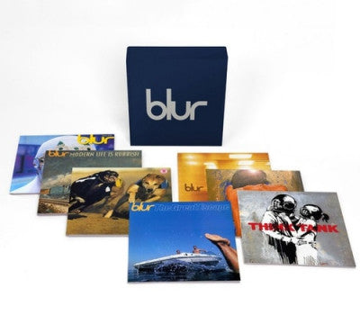 BLUR - 21: The Vinyl Box