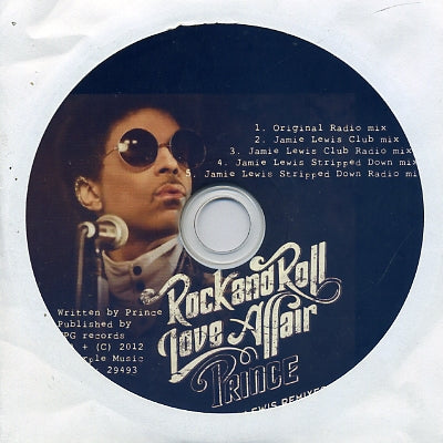 PRINCE - Rock And Roll Love Affair