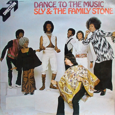 SLY AND THE FAMILY STONE - Dance To The Music