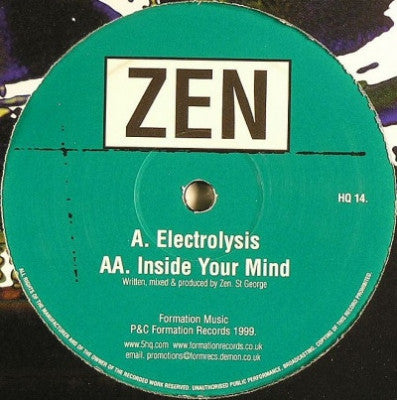 ZEN - Electrolysis / Inside Your Mind