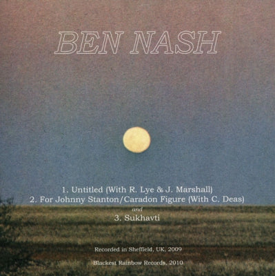 BEN NASH / MAGIC LANTERN  - Ben Nash / Magic Lantern