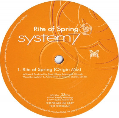 SYSTEM 7 - Rite Of Spring