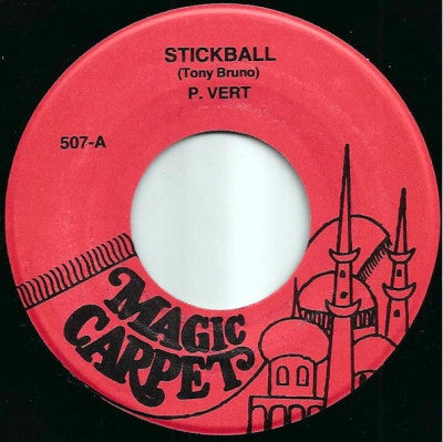 P. VERT / CONNIE LINGUS - Stickball / F*** Me Forever