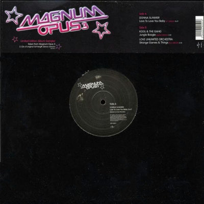 DONNA SUMMER / KOOL AND THE GANG / LOVE UNLIMITED - Magnum Opus 3 Sampler