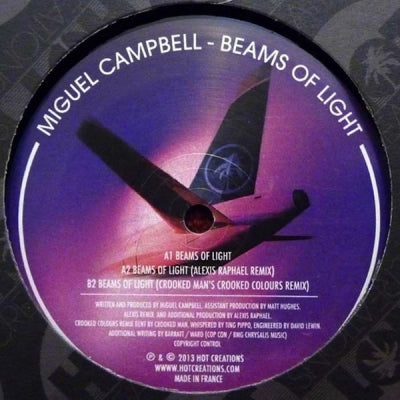 MIGUEL CAMPBELL - Beams Of Light