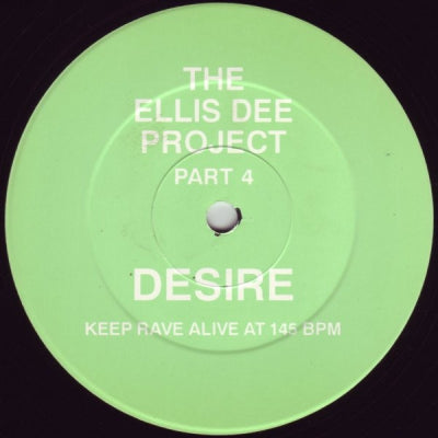 ELLIS DEE - The Ellis Dee Project Part 4