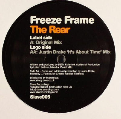 FREEZE FRAME - The Rear