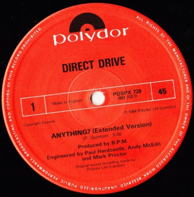 DIRECT DRIVE - Anything