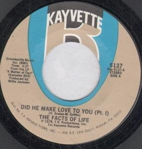 THE FACTS OF LIFE - Did He Make Love To You (Part's 1 & 2).