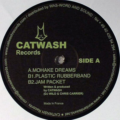 CATWASH - Mohake Dreams / Plastic Rubberband / Jam Packet