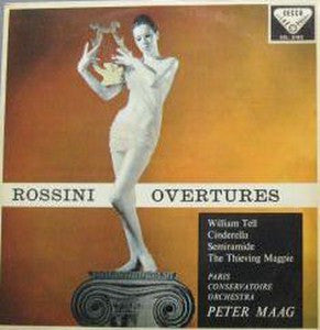 THE PARIS CONSERVATOIRE ORCHESTRA - Rossini Overtures