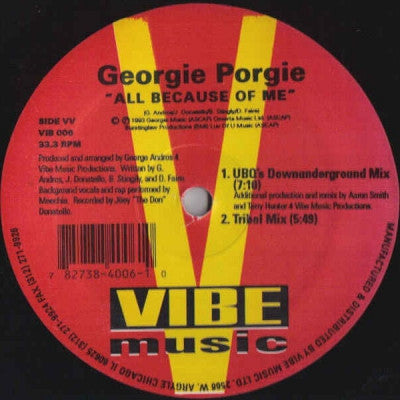 GEORGIE PORGIE - All Because Of Me