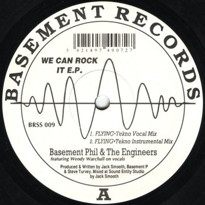 BASEMENT PHIL & THE ENGINEERS - We Can Rock It E.P.
