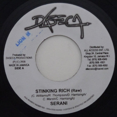 SERANI - Stinking Rich (Raw)