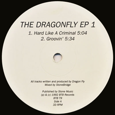 DRAGON FLY - The Dragonfly EP 1